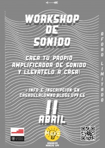 Cartel Workshop Sonido