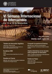 VI Semana Internacional de Intercambio