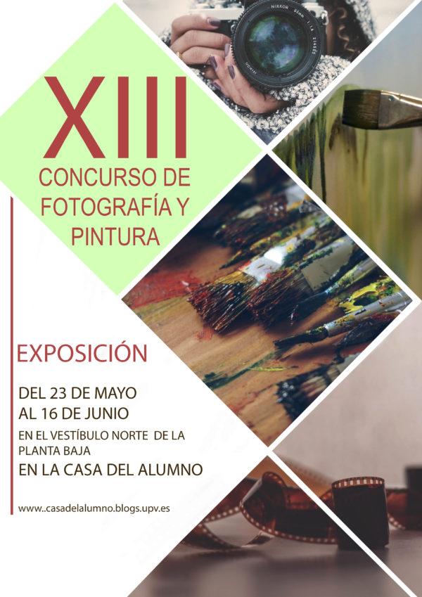 XIII concurso de Fotografía y pintura