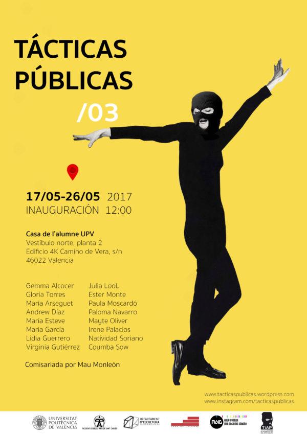 Exposición Tácticas Públicas
