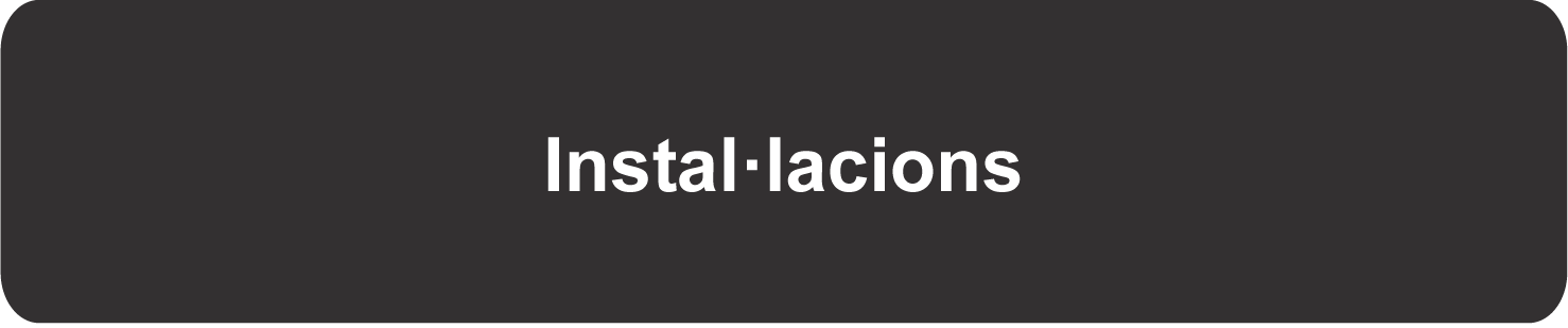 Instal·lacions